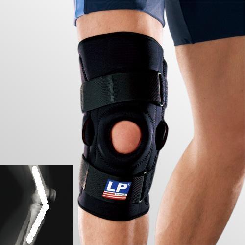 Неопреновый стабилизатор колена шарнирный LP