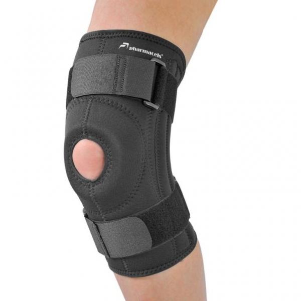 Бандаж-стабилизатор коленной   Patella Stabilizer Knee Brace PRO Pharmacels - Ортез (бандаж для спорта, наколенник) на коленный сустав усиленный полужесткий.PATELLA STABILIZER KNEE BRACE PRO Pharmacels