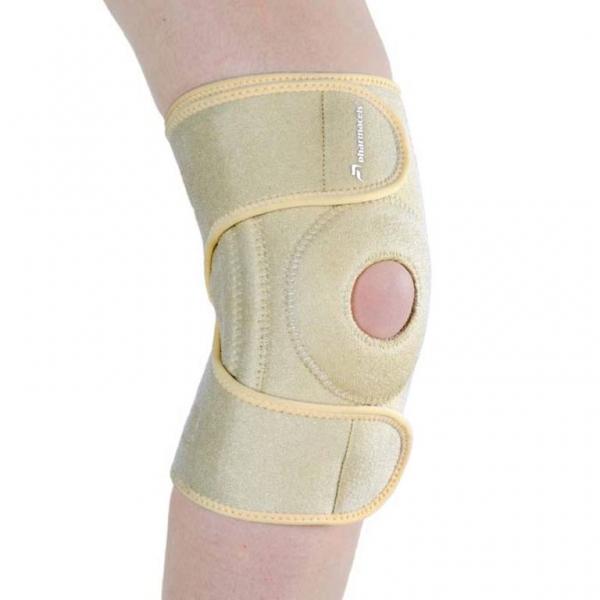 Open Patella KNEE SUPPORT Pharmacels - Разъемный фиксатор (бандаж, ортез коленный) колена усиленный
