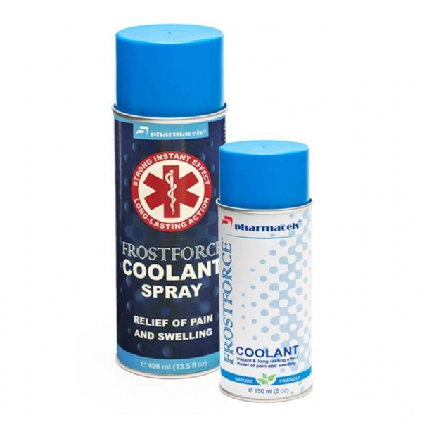 Охлаждающий спрей Pharmacels FROSTFORCE Coolant Spray 400 мл