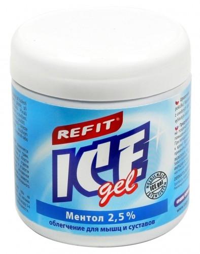 Охлаждающий гель Refit Ice Gel Ментол 2,5% 230мл