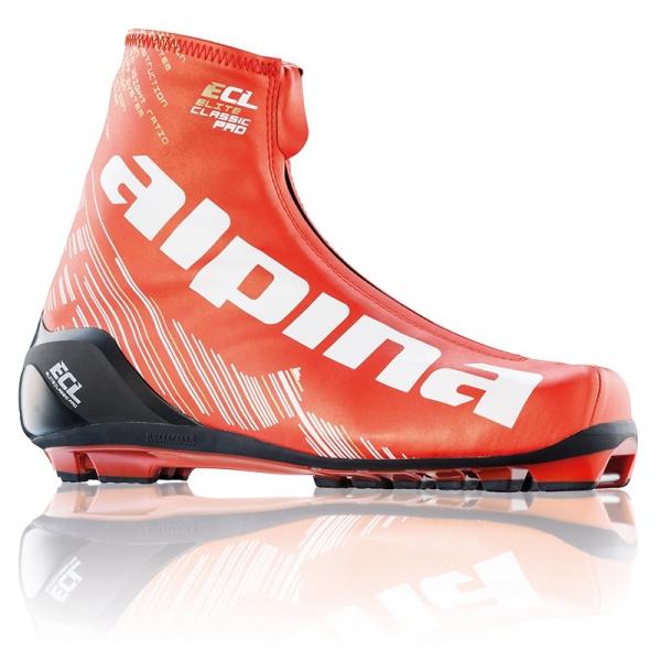 Гоночные лыжные ботинки для классического хода ALPINA ECL 2.0