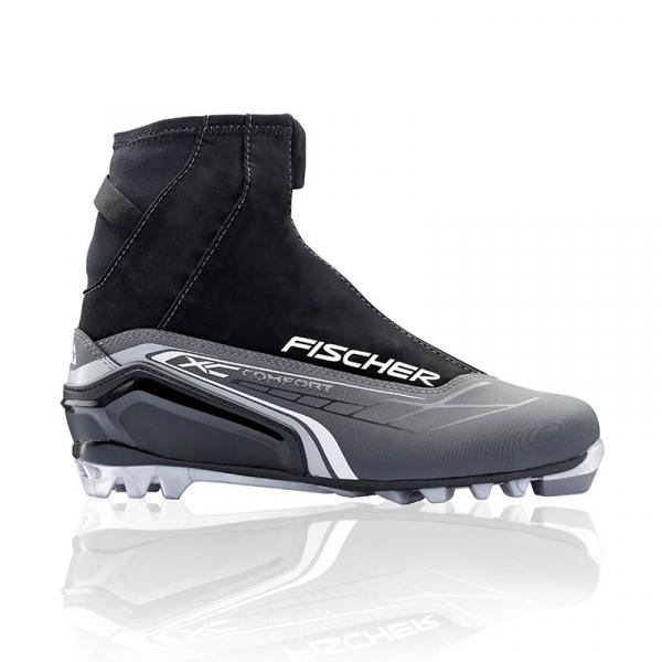 Ботинки лыжные универсальные FISCHER XC COMFORT SILVER