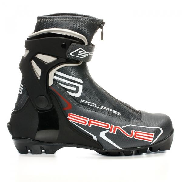 Лыжные ботинки для конькового хода SPINE NNN Polaris (черный)