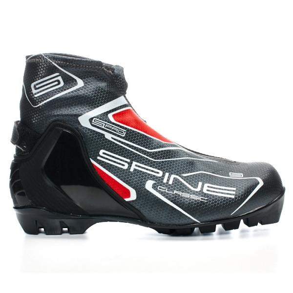 Лыжные ботинки для классического хода SPINE NNN Classic (черный)