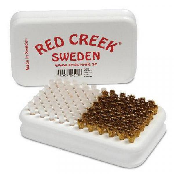 Щетка ручная комбинированная RED CREEK 050 BRASS/NYLON, белый жесткий нейлон/латунь