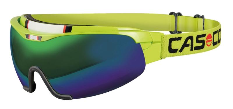 Очки-маска  CASCO SPIRIT CARBONIC neon