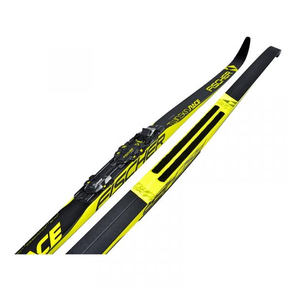 Беговые лыжи для классического хода FISCHER TWIN SKIN RACE MEDIUM-STIFF NIS