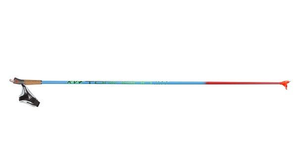 Палки лыжные KV+ Tornado Plus Junior, 80% Carbon