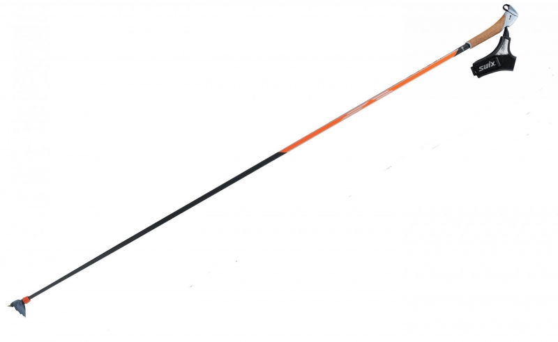 Палки лыжные SWIX SUPER CARBON TBS рукоятка PCU, темляк Pro-Fit2