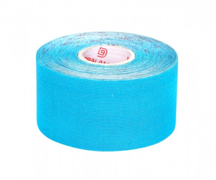 Кинезио тейп BBTape™ 3,75см × 5м голубой