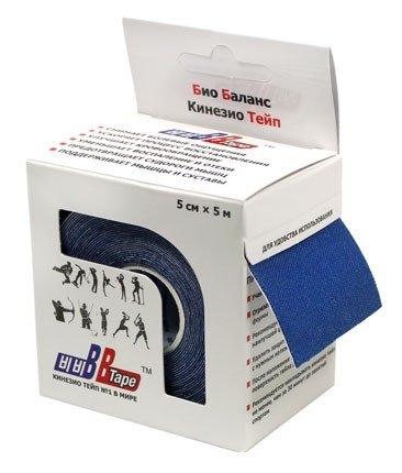 Кинезио тейп BBTape™ 5см × 5м тёмно-синий