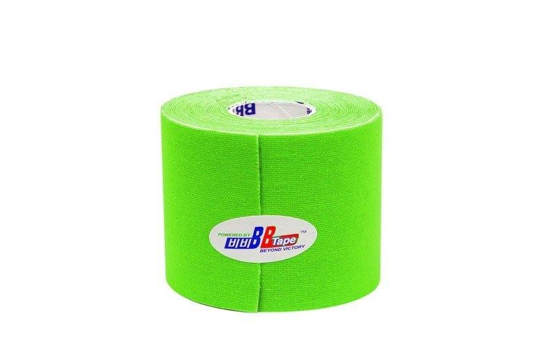 Кинезио тейп BBTape™ 5см × 5м флуоресцентный лайм