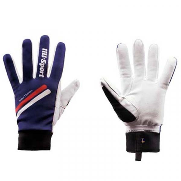Перчатки гоночные утепленные LillSport Solid Thermo