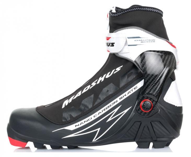 Ботинки лыжные для конькового хода MADSHUS NANO CARBON SKATE Ski Boots