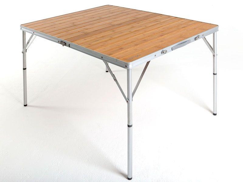Кемпинговый стол Bamboo с бамбуковой столешницей