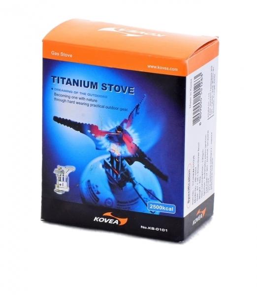 Горелка газовая Kovea компактная Titanium Stove