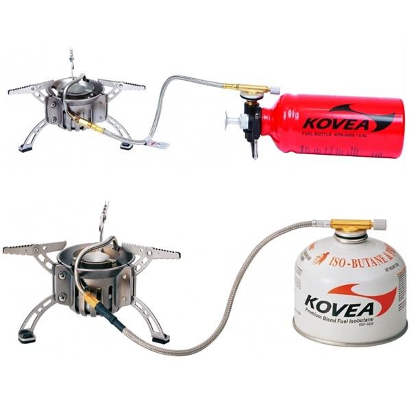Горелка мультитопливная Kovea (газ - бензин) компл.