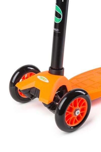 Самокат TROLO Maxi Flash Оранжевый