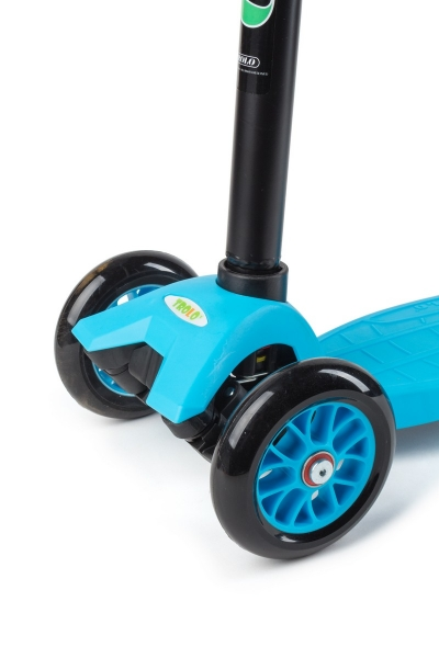 Самокат TROLO Maxi Flash Голубой