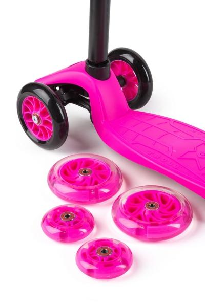 Самокат TROLO Maxi Flash Розовый