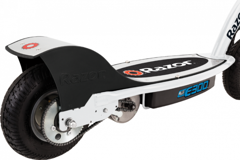 Электросамокат для детей Razor E300 Бело-синий