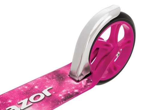 Складной городской самокат Razor A5 Lux Розовый