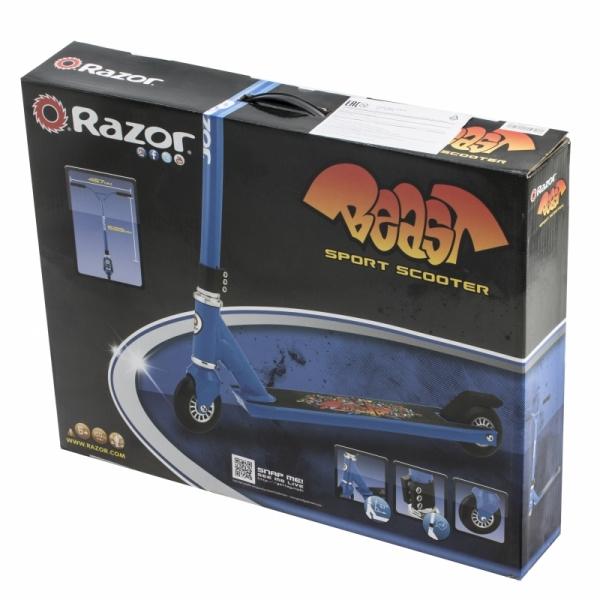 Трюковый самокат Razor Beast Синий