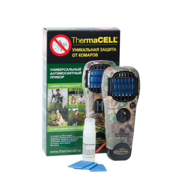 Комплект Thermacell прибор антимоскитный камуфляжный + чехол камуфляжный