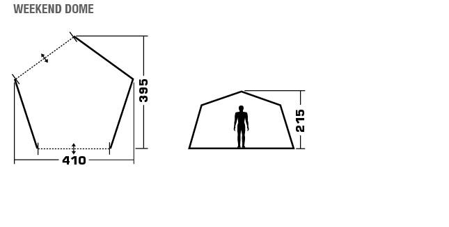 Универсальный шатер Trek Planet Weekend Dome