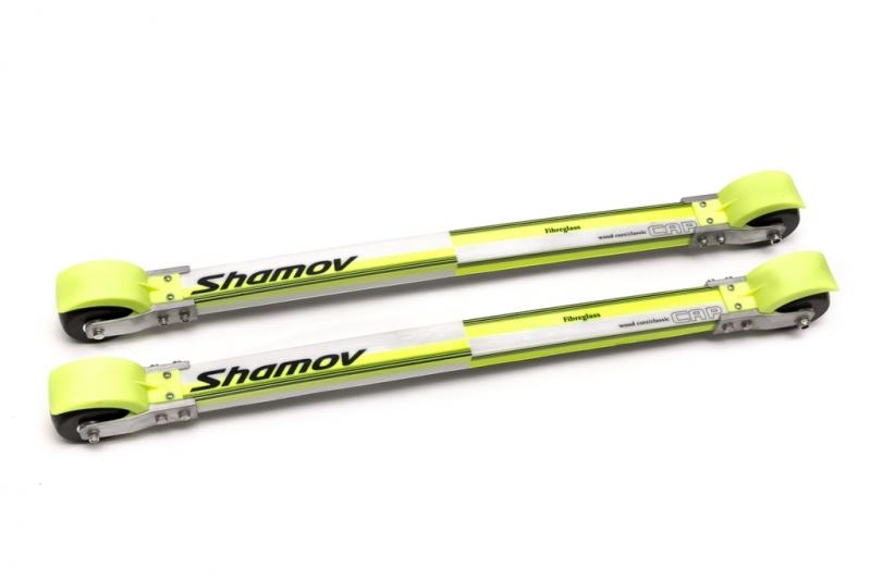 Лыжероллеры для классического хода Shamov d74*45 mm каучук