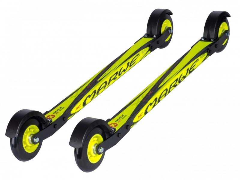 Лыжероллеры для конькового хода на карбоновой платформе №7 MARWE 620XС(7 колесо)