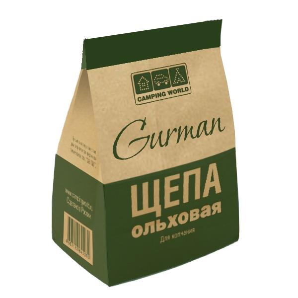 Щепа ольховая Gurman, 2,5 л.