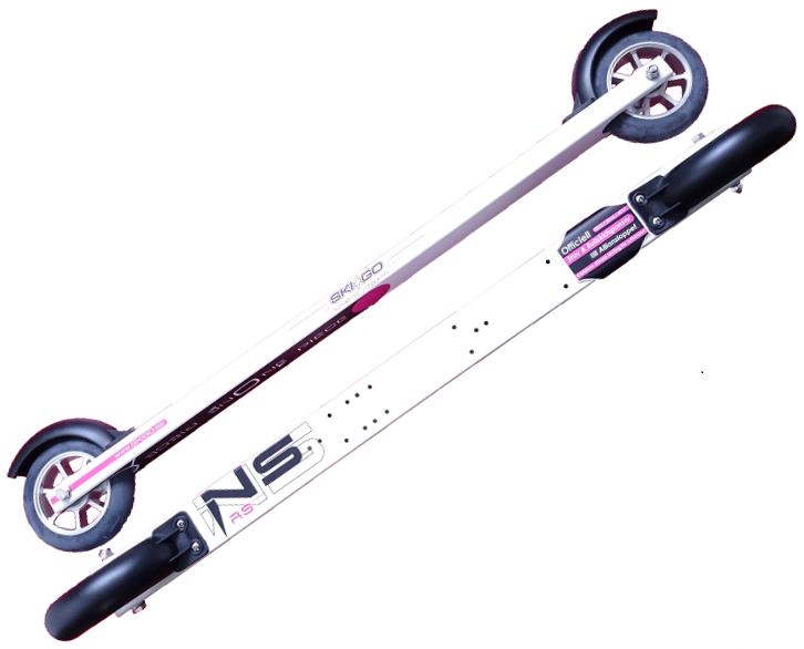 Лыжероллеры для конькового хода Skigo Skate NS Aluminium