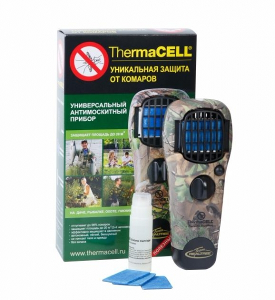 Устройство для защиты от комаров ThermaCELL (камуфляж)