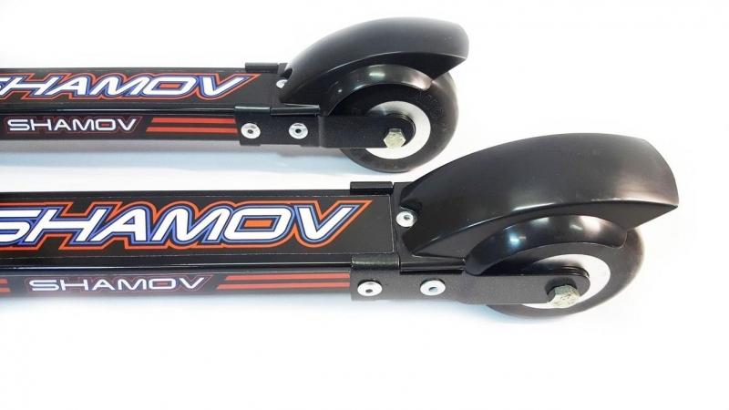 Лыжероллеры для классического хода Shamov d70*40 mm каучук