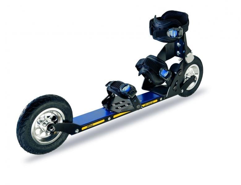 Лыжероллеры для бездорожья SRB Cross Skate (надувные колеса 150 + тормоз + крепление) XRS02