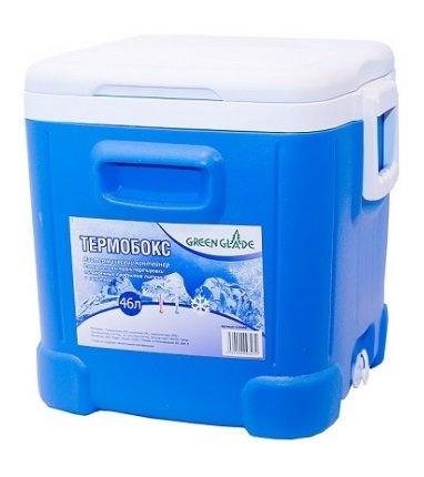 Термобокс Green Glade 46 л голубой