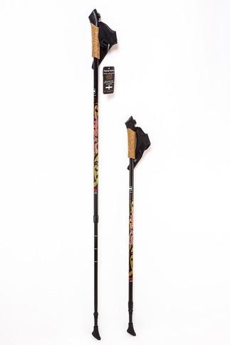 Палки для скандинавской ходьбы Finpole NOVA 30% Carbon Black