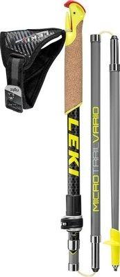 Палки для скандинавской ходьбы Leki Micro Trail Vario 100% Carbon
