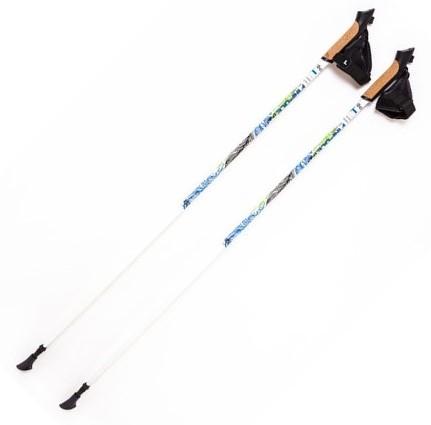 Палки для скандинавской ходьбы Finpole Spirit 100% Carbon White