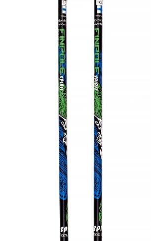 Палки для скандинавской ходьбы Finpole Spirit 100% Carbon Black