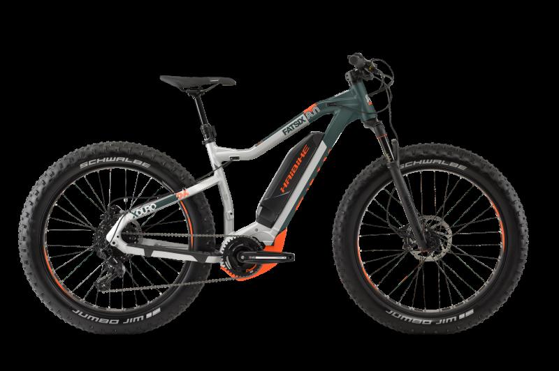 Электровелосипед Haibike (2019) Xduro FatSix 8.0 (50 см)