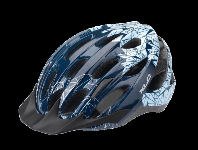 Шлем XLC Bike helmet BH-C20 blue Motive 'Prism'