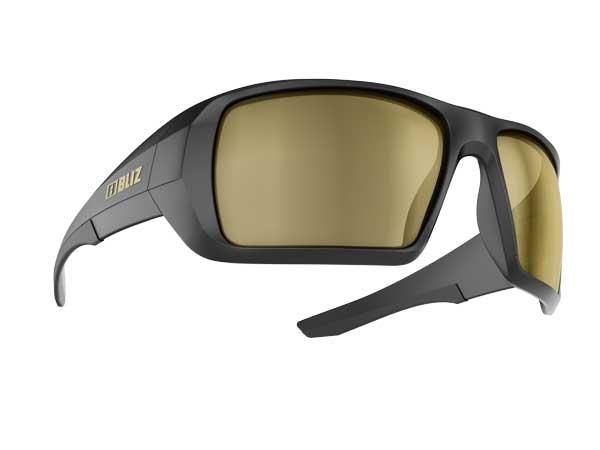 Спортивные очки с поляризационными линзами BLIZ Active Summit Matt Black Polarized