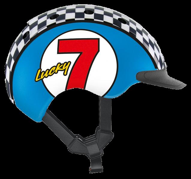 Велошлем Casco Mini 2 Lucky 7 blue
