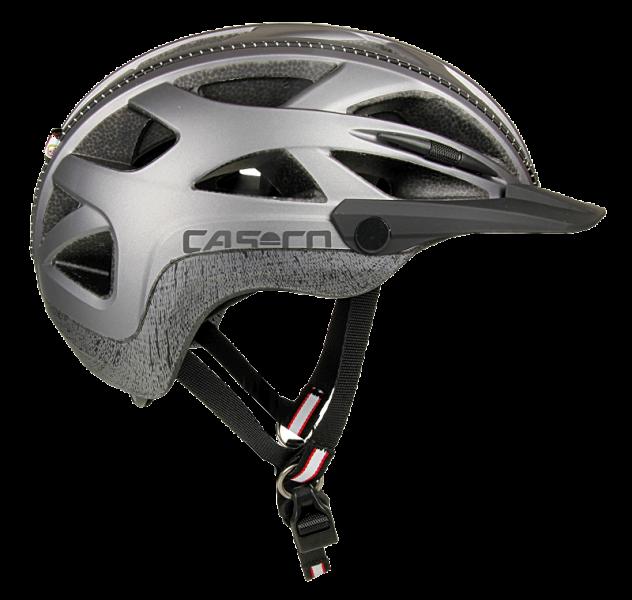 Велошлем Casco Activ 2U silver
