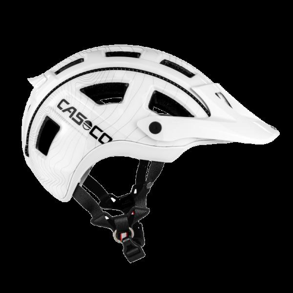 Велошлем Casco MTB.E white