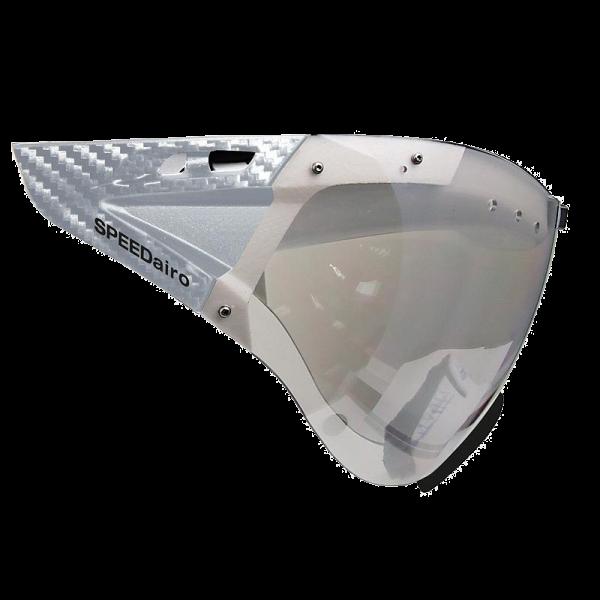 Линза для шлема Casco Visor SPEEDmask Carbonic clear silver flash