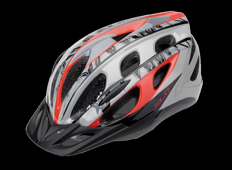 Шлем XLC Bicycle helmet BH-C18 L-XL (54-58cm) red-grey